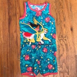 Disney Princess Elena of Avalor Pajama Set Size 4